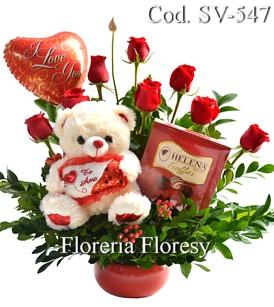Floreria Con Arreglos Florales Para San Valentin Peru Floresy