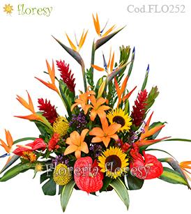 Flores Tropicales Peru Arreglos Florales Exoticos En Peru