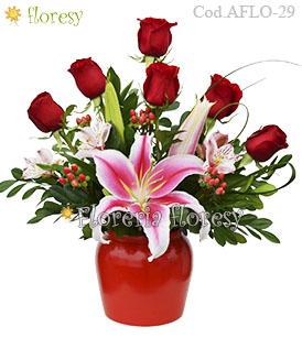 Arreglos Florales Romanticos A Lima Peru Floresy