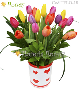 Full of Love 18 Tulipanes