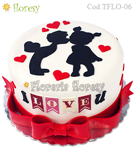 Romantic Cake - orders with 48 hours