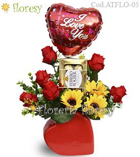 Arreglos con flores artificiales lima Floresy